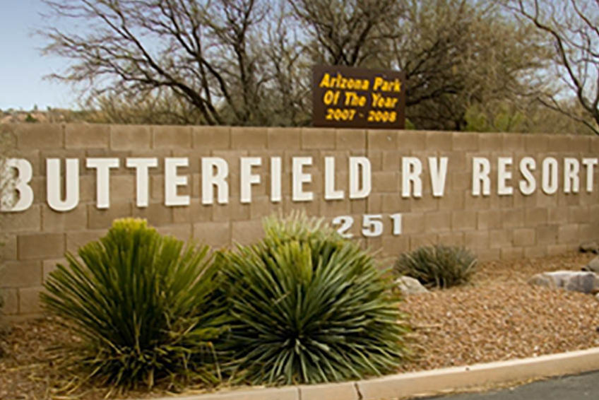 Butterfield RV Resort and Observatory in Benson AZ is a member of the Arizona RV Park and Campground Association