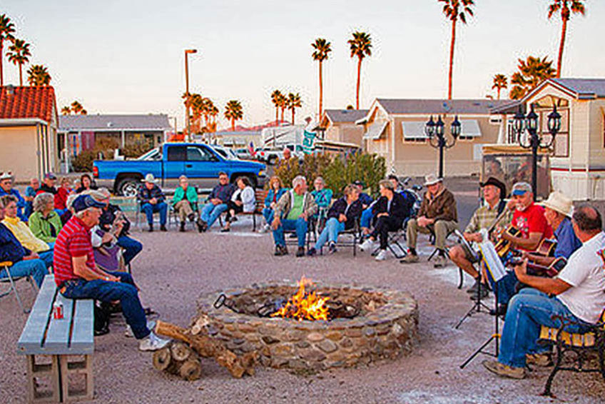 Casita Verde RV Resort in Casa Grande Arizona is a member of the Arizona Association of RV Parks and Campgrounds