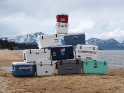 Coolers for camping