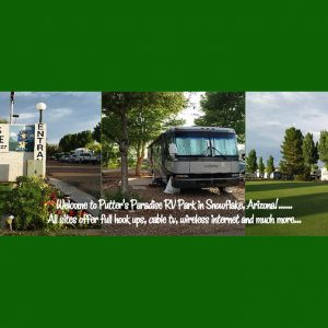 Putters Paradise RV Park in Snowflake AZ is a member of the Arizona Association of RV Parks and Campgrounds