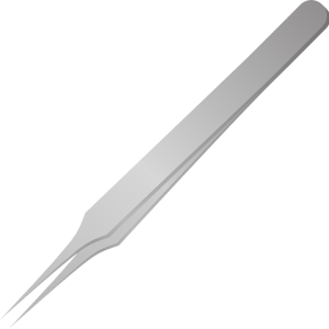 tweezers to remove a splinter