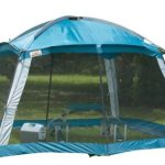screened tent for camping