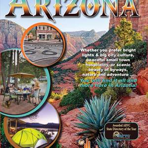 2017-18 Arizona RV and Camping Guide published by the Arizona Association of RV Parks and Campgrounds