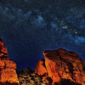 arizona night sky gazing