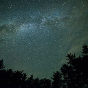 star gazing from the RV