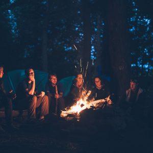 group camping in Arizona