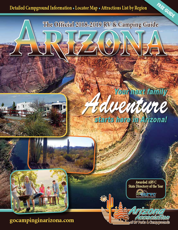 2018 Arizona RV Park and Campground Directory