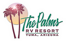 the palms rv resort logo